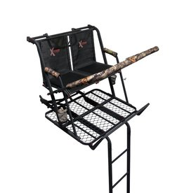 THE JAYHAWK TWO-PERSON 20' LADDER STAND TREESTAND