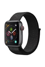 Apple Watch series 4 GPS, 40MM, Space Grey Aluminium Case, Black Sport Loop