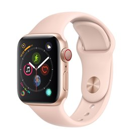 Apple Watch series 4 GPS, 40MM, Gold Aluminium Case, Pink Sand Sport Band