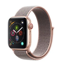 Apple Watch series 4 GPS, 40MM, Gold Aluminium Case, Pink Sand Sport Loop