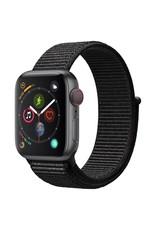 Apple Watch series 4 GPS, 44MM, Space Grey Aluminium Case, Black Sport Loop