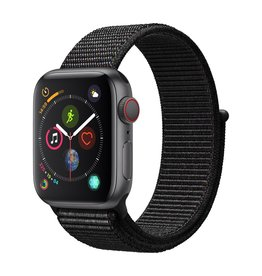 Apple Watch series 4 GPS, 44MM, Space Grey Aluminium Case, Black Sport Loop