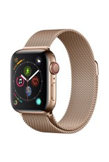 Apple Watch series 4 GPS, Cellular, 40MM, Gold Stainless Steel Case, Gold Milanese Loop
