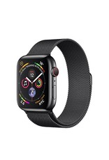 Apple Watch series 4 GPS, Cellular, 44MM, Space Black Stainless Steel Case, Space Black Milanese Loop