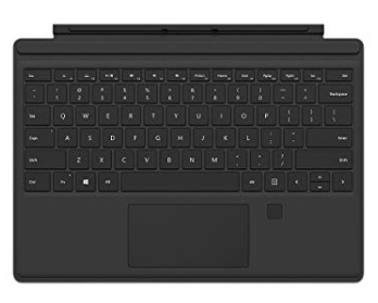 Microsoft Surface Go Signature Type Cover Fingerprint - Black