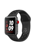 Apple Watch Nike, GPS, 38MM, Silver Aluminium Case with Anthracite/Black Nike Sport Band