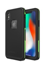 Lifeproof Fre - iPhone X - Black Lime