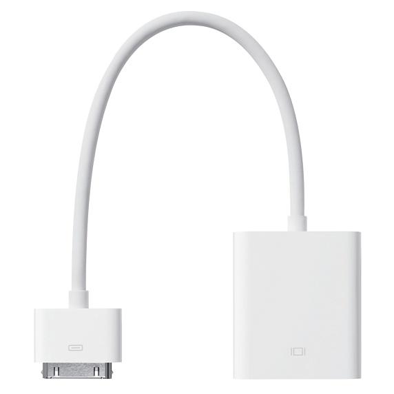 Apple 30-pin to VGA adapter