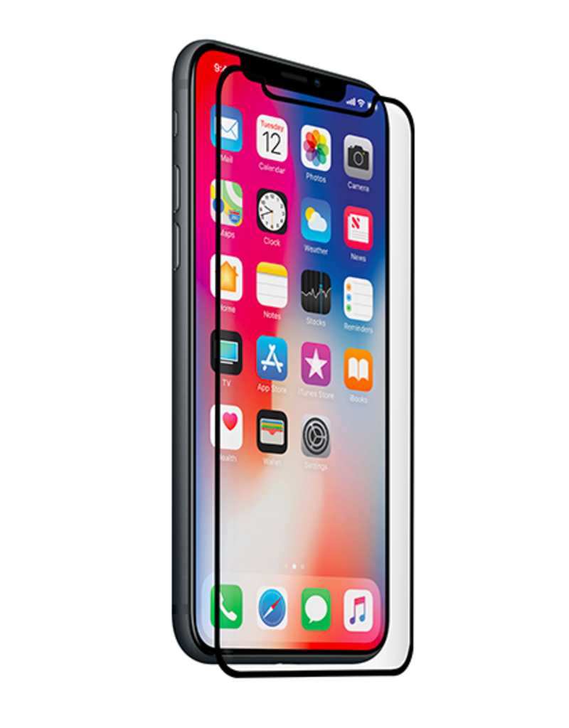 Screen Protector Curved Glass, iPhone Xs, Clear