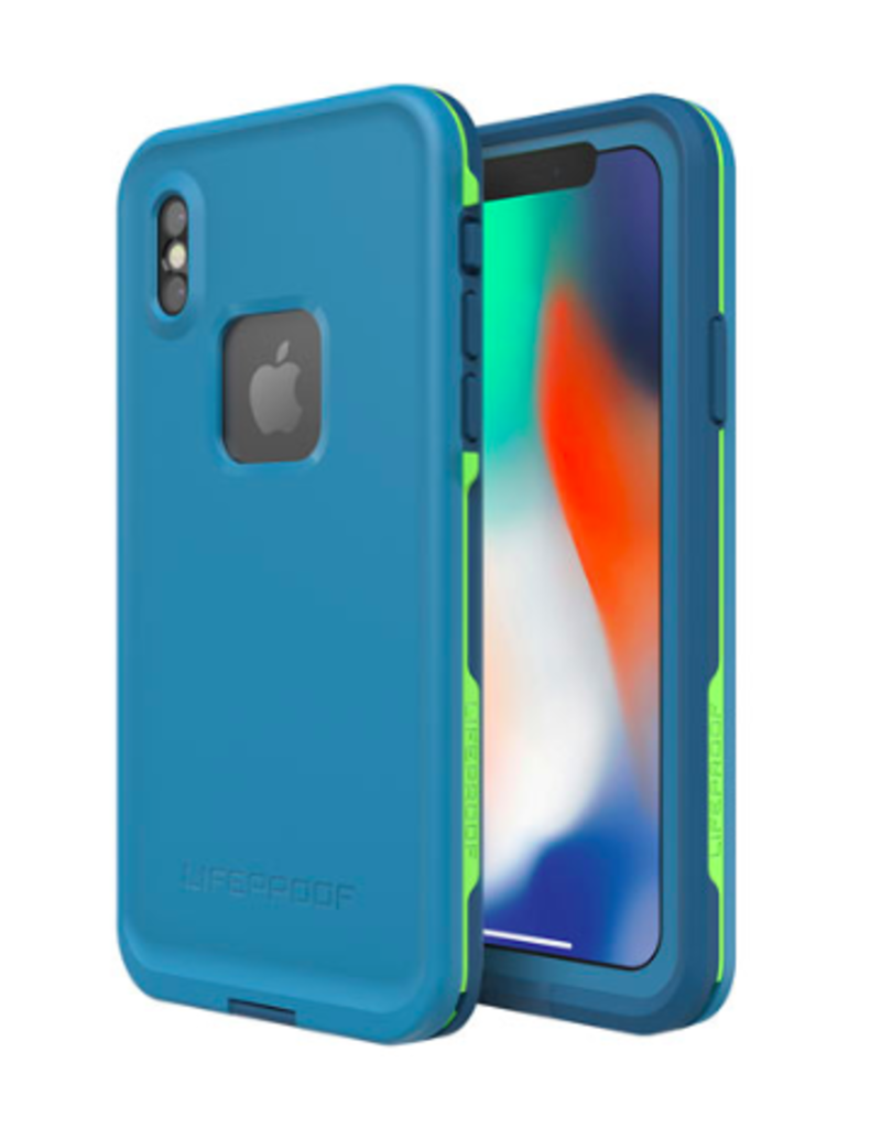 Lifeproof Fre - iPhone X Blue Lime