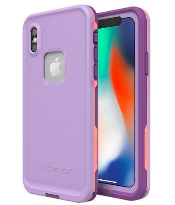 LifeProof Fre - iPhone X - Purple Rose Coral
