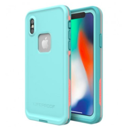 LifeProof Fre - iPhone X - Blue Coral