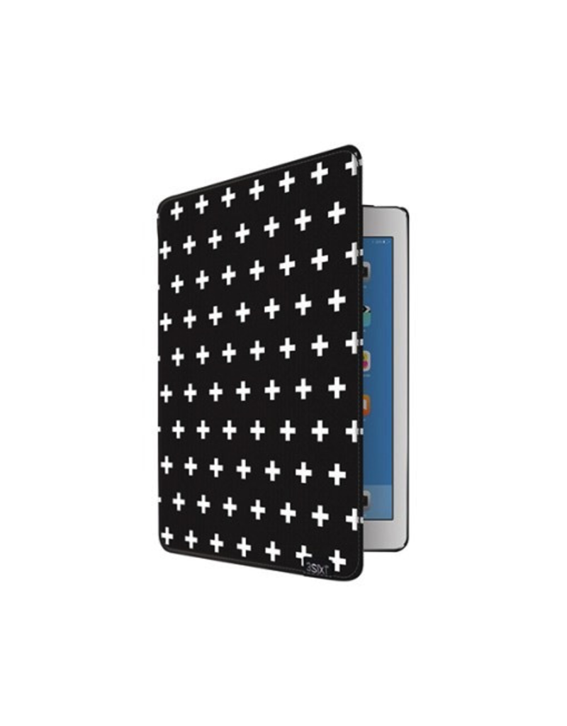 3SIXT Flash Folio iPad Air 2 - Black Cross
