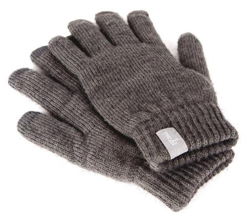 Moshi Moshi  Digits - Touch Screen Gloves  Dark Grey / Large