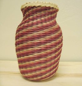 Woven Designs Twisted Spiral Basket Pattern