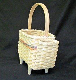 Woven Designs Chairside Companion Basket Pattern