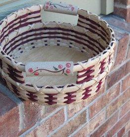 Woven Designs Cranberry Muffin Basket Pattern