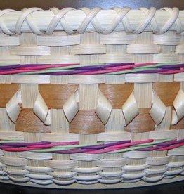 Woven Designs Fancy Centerpiece Basket Pattern