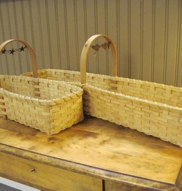Woven Designs Table Centerpiece Basket in two sizes pattern