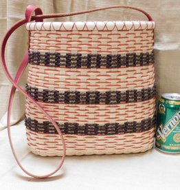 Woven Designs Chocolate Cherry Mousse Tote Pattern
