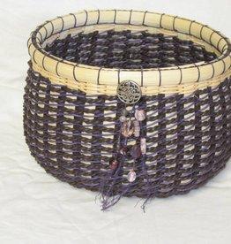 Woven Designs Chocolate Twist Basket Pattern