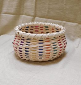 Woven Designs Basket of Many Colors Pattern