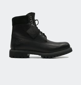 TIMBERLAND Timberland - 6IN Premium Boot Black Leather (10054)