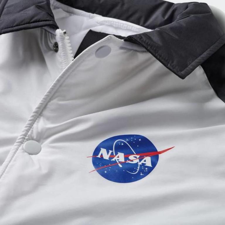 Vans Nasa X Vans Space Torrey Jacket White Vn0a3hxzwuz Sam Tabak
