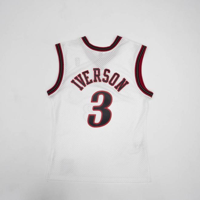 0749cf3bf Allen Iverson Swingman Jersey 2000-01 Philadelphia 76ers