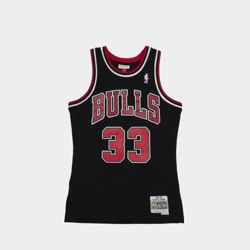 Mitchell & Ness Mitchell & Ness  Scottie Pippen Swingman Jersey Chicago Bulls BLACK