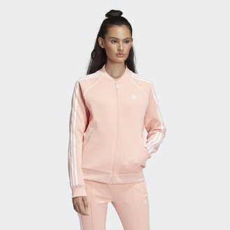 Adidas Womens Adidas SST TT Jacket (DV2635) DUSPINK AA2019 8143e9b2b825