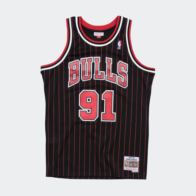 newest 9135e 0ec88 ** Mitchell & Ness Dennis Rodman Swingman Jersey Chicago Bulls WHITE