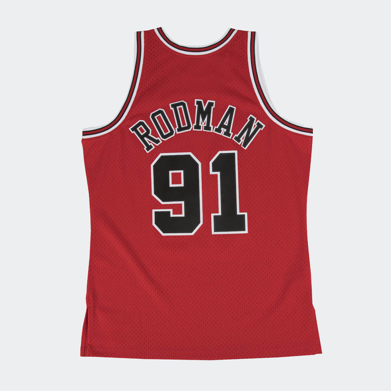Mitchell & Ness ** Mitchell & Ness Dennis Rodman Swingman Jersey Chicago Bulls RED