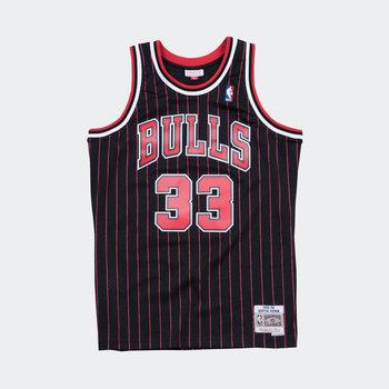 Mitchell & Ness Scottie Pippen Swingman Jersey Chicago Bulls Black/Pin Stripe