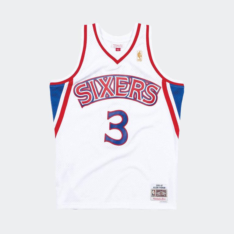 buy online 39a4e 86afa Mitchell & Ness ** Mitchell & Ness Allen Iverson Swingman Jersey  Philadelphia 76ers White