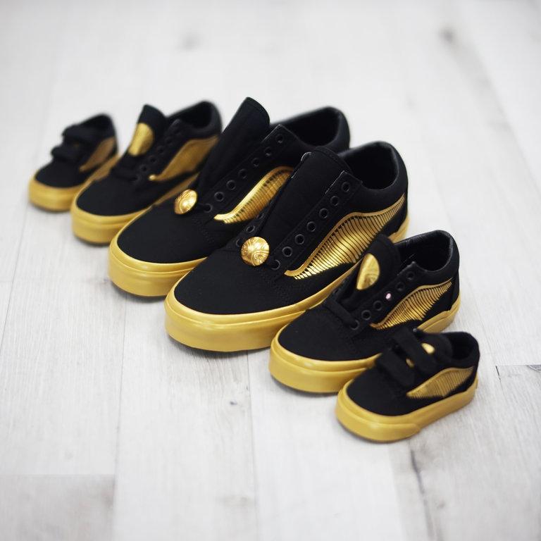 najlepsze trampki ujęcia stóp amazonka vans x harry potter golden snitch old skool sneakers various ...