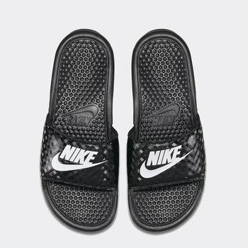 Nike Nike - Womens Benassi JDI (343881) 011 Woven Black/White