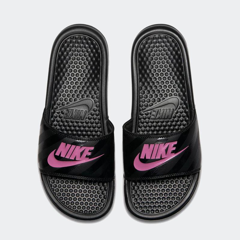 Nike Nike - Womens Benassi JDI (343881) 061 Black/Vivid Pink