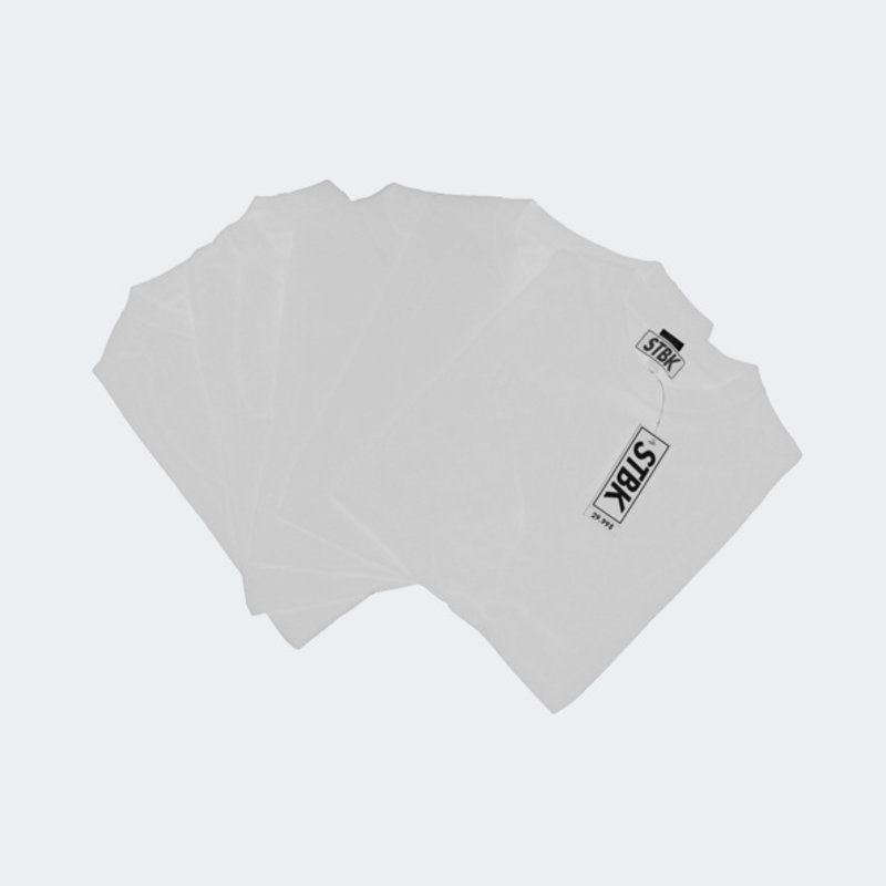"""STBK STBK 5 Pack of T- Shirts """"White"""""""