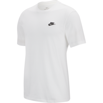 Nike Nike Sportswear Club Shirt WHITE/BLACK AR4997-101