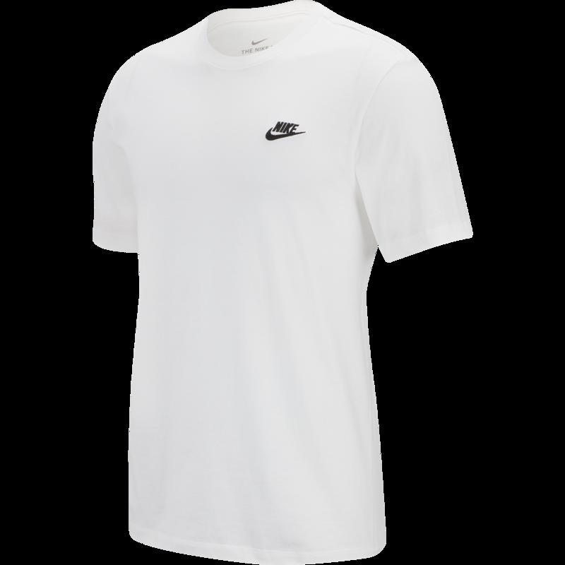 Nike Nike Sportswear Club Shirt WHITE/BLACK AR4997-101