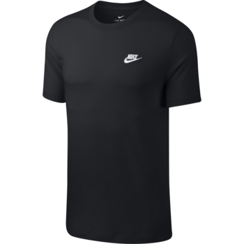 Nike Nike Sportswear Club Shirt BLACK/WHITE AR4997-013