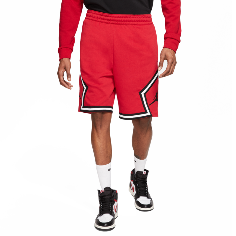 Air Jordan Air Jordan Retro 5 'Fire Red' Red Shorts CV7317-687