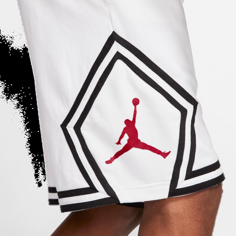 Air Jordan Air Jordan Retro 5 'Fire Red' White Shorts CV7317-100