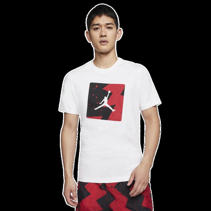 Air Jordan Air Jordan Retro 5 Fire Red Poolside White Shirt CJ6244-100