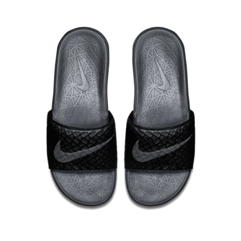 Nike Nike Benassi Solarsoft Slide 2 'Black Anthracite' 705474-091