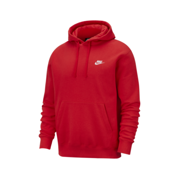 Nike Nike - Sportswear Club Fleece Pullover Hoodie RED BV2654-657