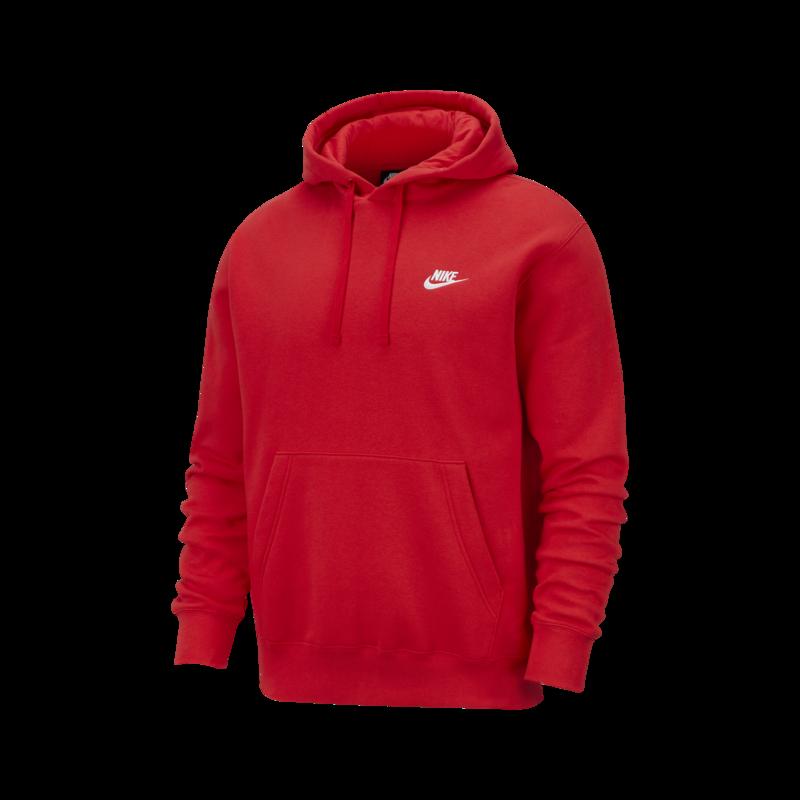 Nike Nike - Sportswear Club Fleece Pullover Hoodie RED BV2654-657