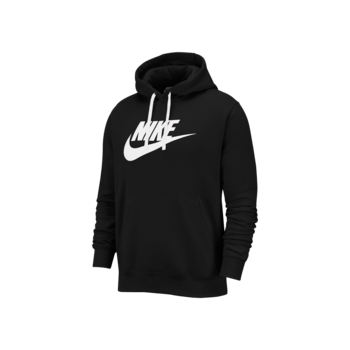 Nike Nike Mens NSW Club Hoodie Pull Over Black BV2973-010