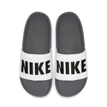 Nike NIKE OFFCOURT SLIDE DARK GREY/BLACK WHITE BQ4639 001 M